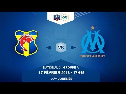 NATIONAL 2 - SC Toulon / Olympique de Marseille - Samedi 17/02/2018 à 17h45