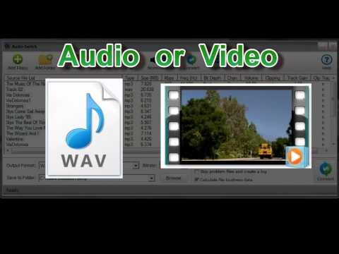 Introducing Audio Switch - Batch File Converter and Volume Normalization
