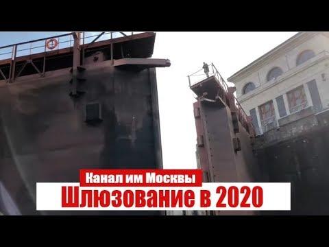 Шлюзование маломерных судов в 2020г на канале им Москвы. Договор, регистрация, правила.