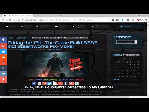 Friday The 13Th The Game SteamWorks Fix V3 Latest Crack