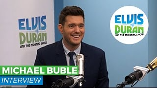 "Michael Buble Chats About His New Album ""Nobody But Me"" 