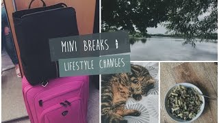 PACKING FOR A MINI BREAK & LIFESTYLE CHANGES