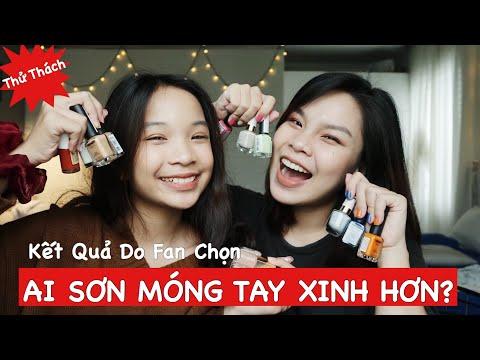 Challenge: AI SƠN MÓNG TAY XINH HƠN (Kết Quả Do Fan Bình Chọn Trên Instagram)