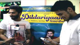 Dildariyan promotion on PU Mirror with Jassi Gill and Babbal Rai