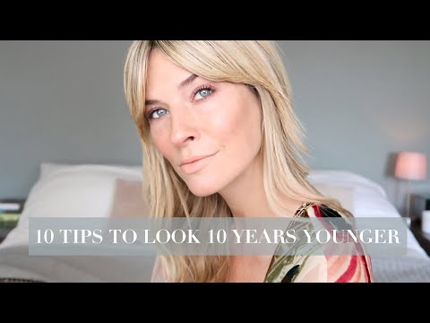 10 SIMPLE BEAUTY TIPS TO LOOK 10 YEARS YOUNGER   OVER 30 MAKEUP 2019