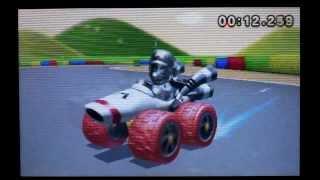 Mario Kart 7 SNES Mario Circuit 2 1:13:283