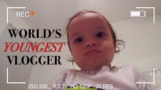 WORLD'S YOUNGEST VLOGGER!!