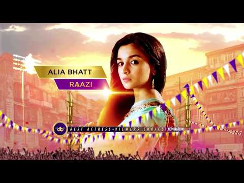 Zee Cine Awards 2019 | Nominations - Best Actor Female
