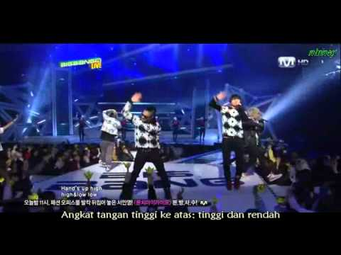 BIGBANG - Hands Up (MALAY SUB) Korean Version
