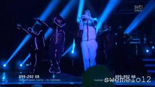 Danny Saucedo - Amazing Live Melodifestivalen 2012 HD