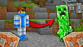 How To Morph Into Any Mob In Minecraft PE | Command Blocks MCPE 1.5 (Minecraft Bedrock Edition)
