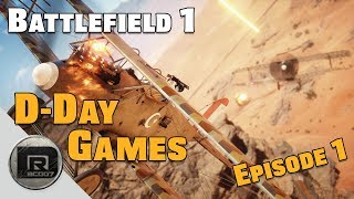 Battlefield 1   Sniper Game-play   D-Day Games (BF1) Episode #1