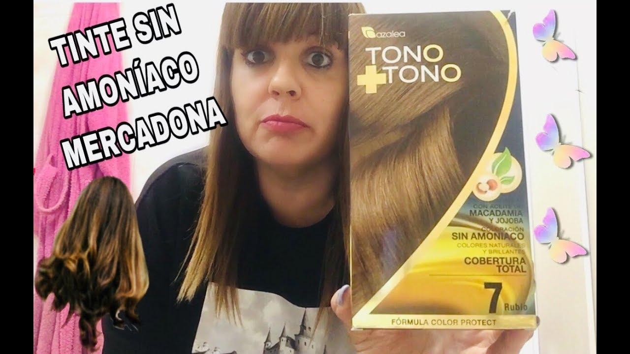 Tinte Tono 7 Rubio Sin Amoniaco Como Queda En El Cabello