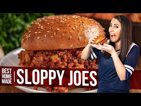 Best Homemade Sloppy Joe's