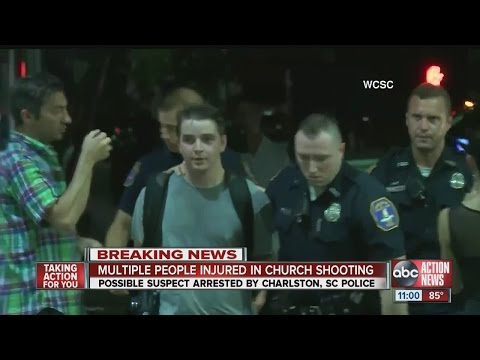 Multiple wounded in S.C. church shooting