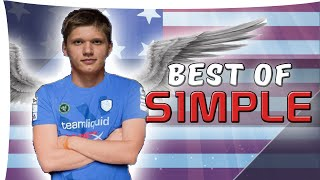 CS:GO Best of s1mple #NAHOPE (Stream Highlights)