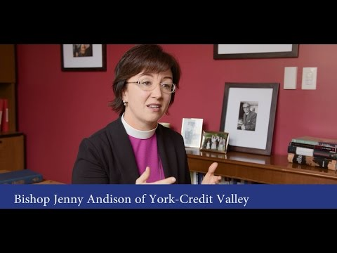 Meeting Bishop Jenny Andison of York-Credit Valley