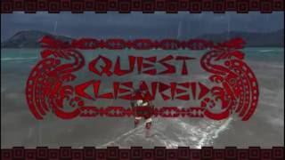 Monster Hunter Freedom Unite slay HR4 Rathian vs Ninja Kids