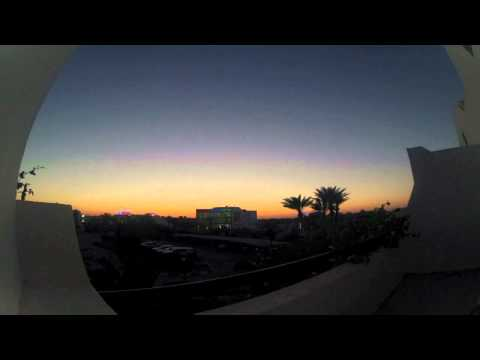 Tunisia Sunset, Djerba. GoPro HD Hero2.