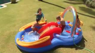 Intex Rainbow Ring Inflatable Play Center #57453 ShoppersPK com