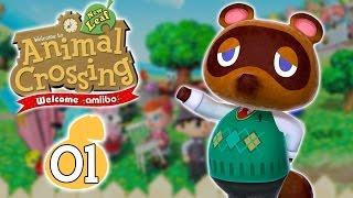 ANIMAL CROSSING NEW LEAF : WELCOME AMIIBO #01 - ENORMEMENT DE NOUVEAUTÉS !