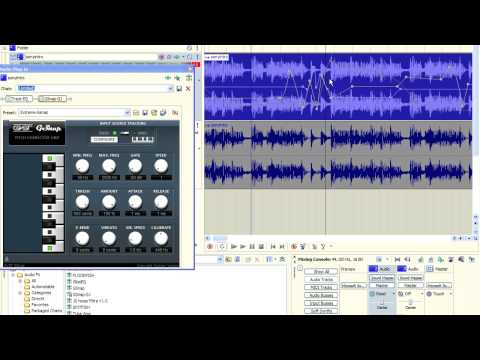 Sony Acid Pro 7 - Effects and Plugin Envelopes and Automation - Magix Acid Pro FX