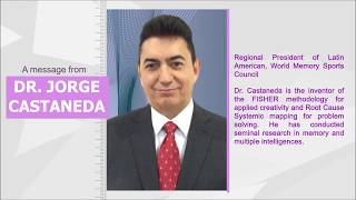 Message from Dr. Jorge Castaneda