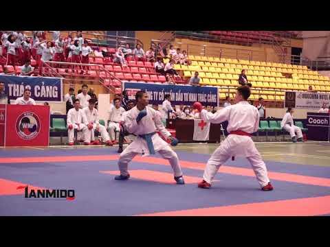 SENIOR MALE TEAM KUMITE    AKA. VIETNAM  - AO. INDONESIA  The 7th SEAKF Karate Championship 2018