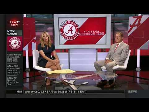Jaymee Sire & Sara Walsh Thighcenter | ESPN