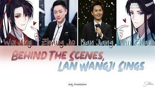 ||Behind The Scenes, Lan WangJi Sings||Eng Subs||