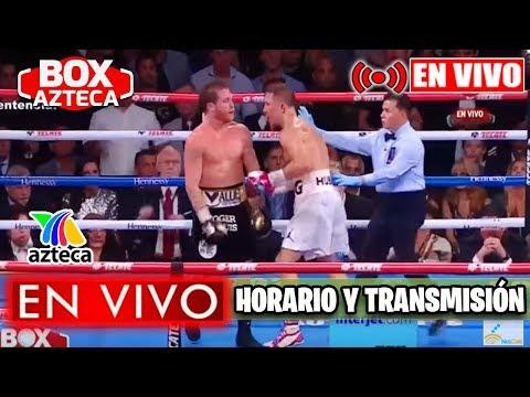 Saul Canelo Alvarez Vs Kovalev En Vivo Box Azteca 2019