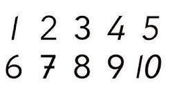 Kielinuppu - Opitaan numeroita