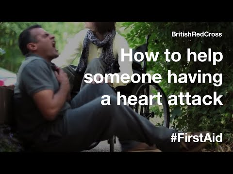 First Aid: Heart attack