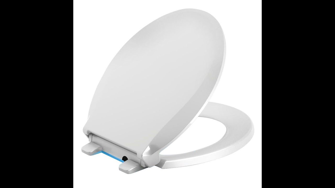 How To Install A Toilet Seat Kohler Nightlight Toilet