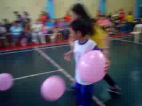 Caleb Balloon Relay Race