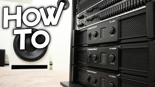 HOW MY SUBWOOFERS ARE CONNECTED!