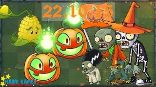 Plants vs. Zombies 2 - Lawn of Doom Piñata Parties (October 22, 2015) [4K 60FPS]