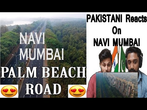 Pakistani Reaction On Navi Mumbai Drone View - AA Reactions