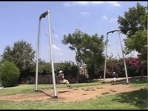 Jonathan Engineering - Coupled Swings, Clore Garden, Israel
