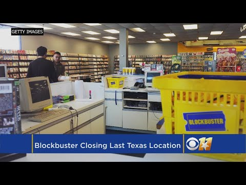 One Of The Last Blockbuster Video Stores In The U.S. Is Closing