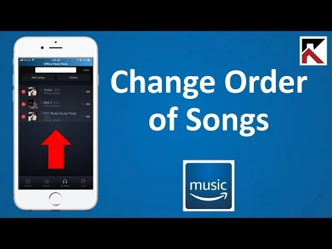 How To Change Order Of Songs In A Playlist Amazon Music Mp3