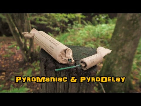 Deutscher Böller vs. Polen Böller (Dynamit Böller D vs. Little Dynamite)   PyroManiac & PyroDelay
