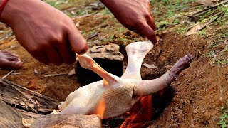 Outdoor Duck Curry Recipe | Village Style Cooking Duck Recipe by villfood