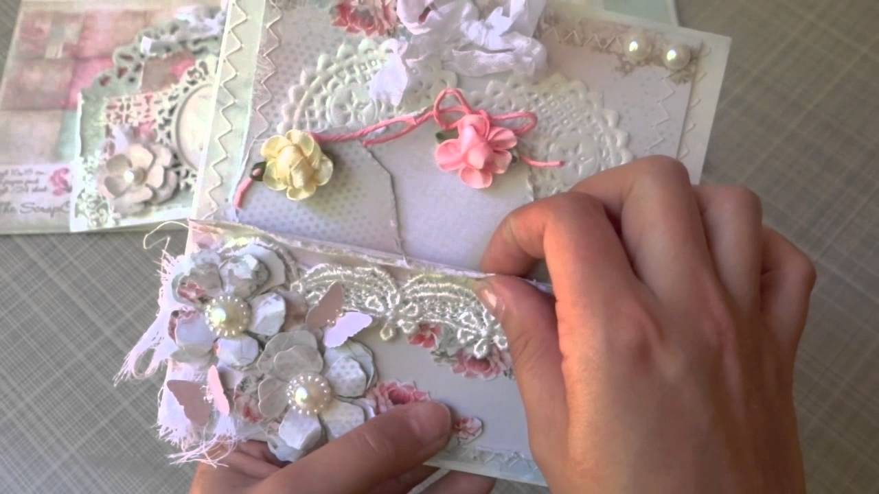 Shabby Chic Cards Amp Exciting Announcement YouTube