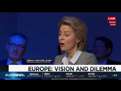 Davos: Global Conversation, il ruolo dell'Europa tra realtà e dilemmi