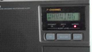 tsunami bulletin on noaa weather radio