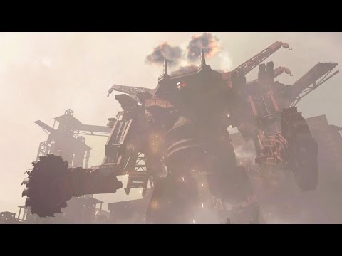 Nier Automata: Boss Fight #1 Goliath / Engels (1080p 60fps)