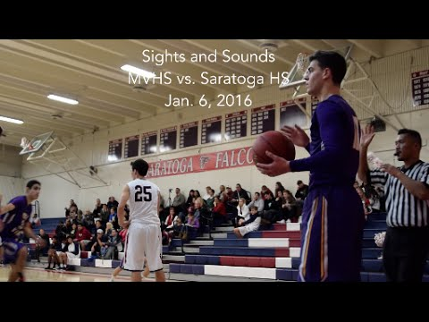 Sights and Sounds: Boys basketball down the stretch at Saratoga HS