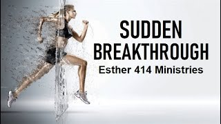 Sudden Breakthrough-Something to think about.