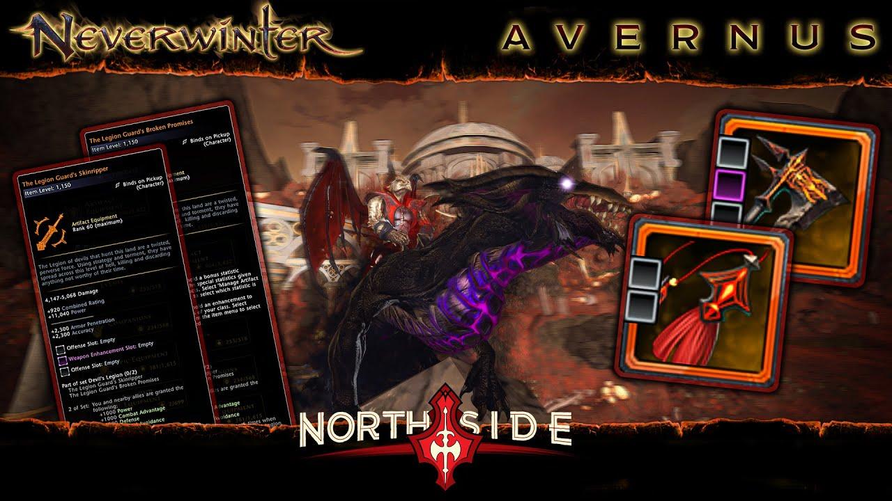Neverwinter Mod 19 - Legion Guard Set Maps Of Avernus My Experience Northside Barbarian